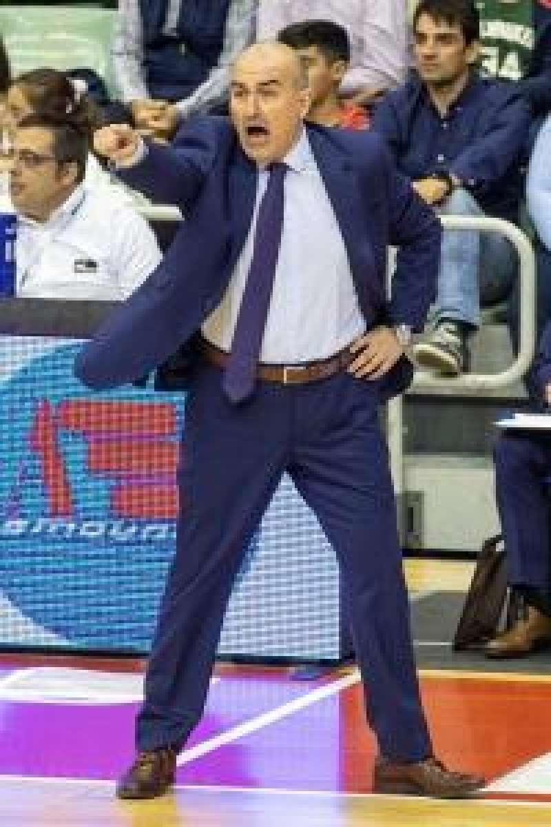 El entrenador Valencia Basket Club Jaume Ponsarnau. EPDA