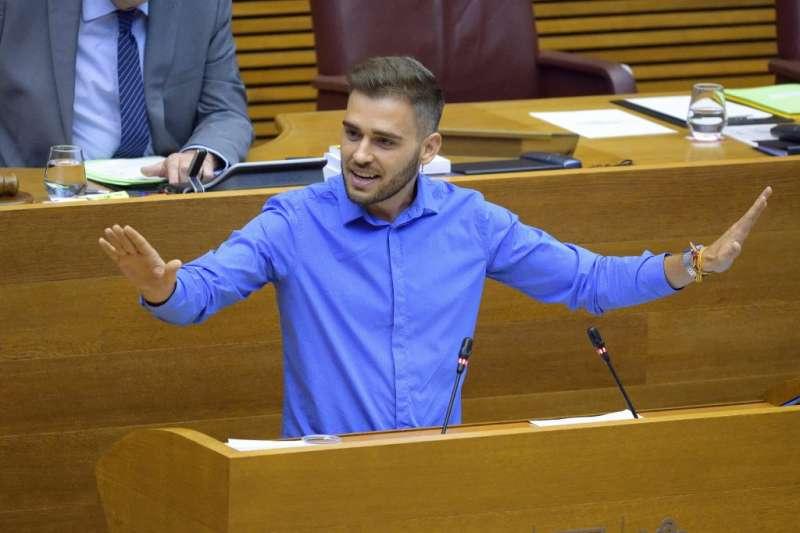 Fran Ferri, síndic de Compromís a les Corts. FOTO COMPROMIS.NET