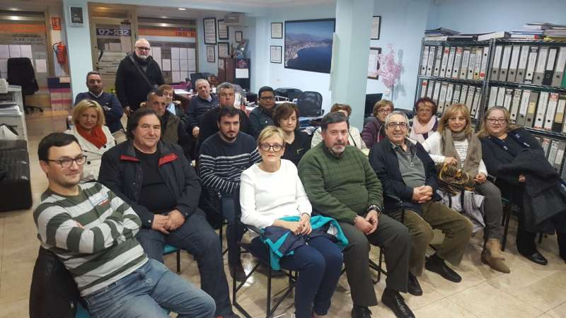 Militantes en la asamblea de Contigo Benidorm. FOTO EPDA