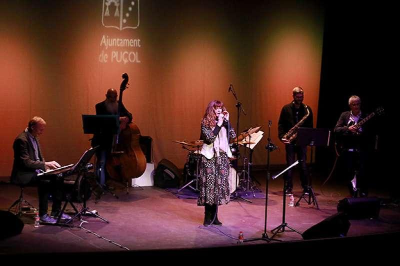 Concierto de jazz en la Casa de la Cultura de Puçol en abril.