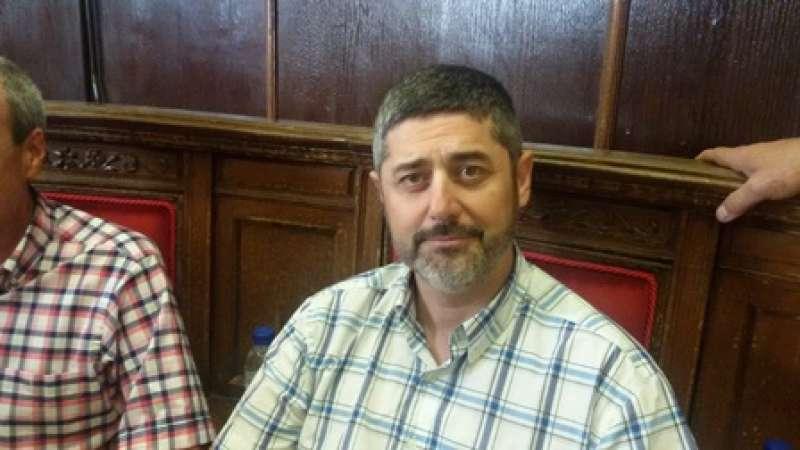 Manuel González, portavoz de IP. EPDA