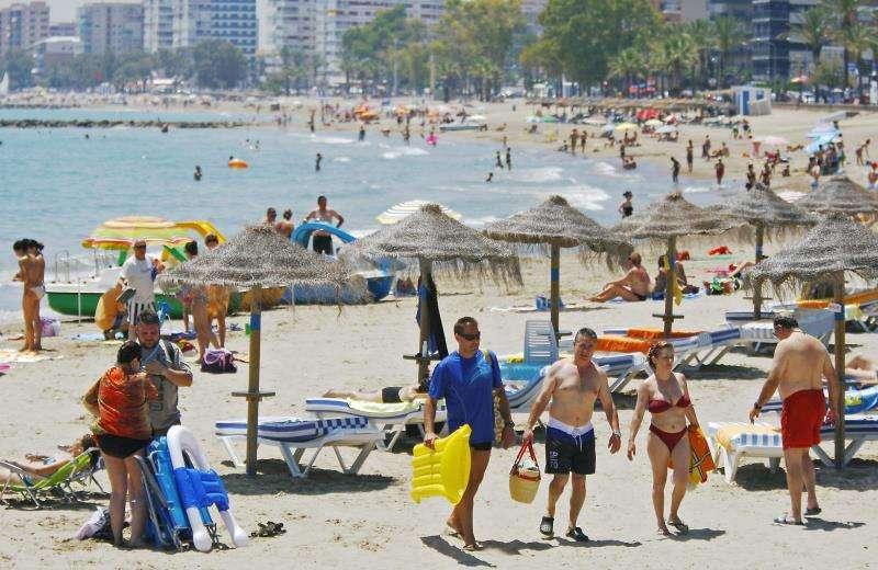 Imagen de archivo de una playa de Benicàssim (Castellón). EFE/Archivo