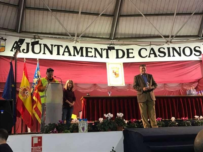 El Alcalde de Casinos, en la Feria del dulce artesano