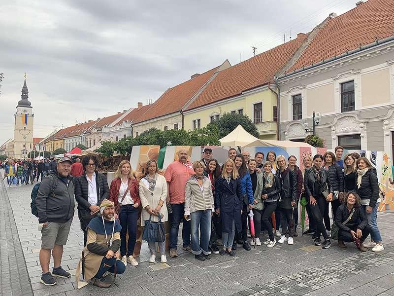 Visita de la Fundació Comunitat Valenciana de Patrimoni Industrial i Memoria Obrera del Port de Sagunt a Eslovàquia. EPDA