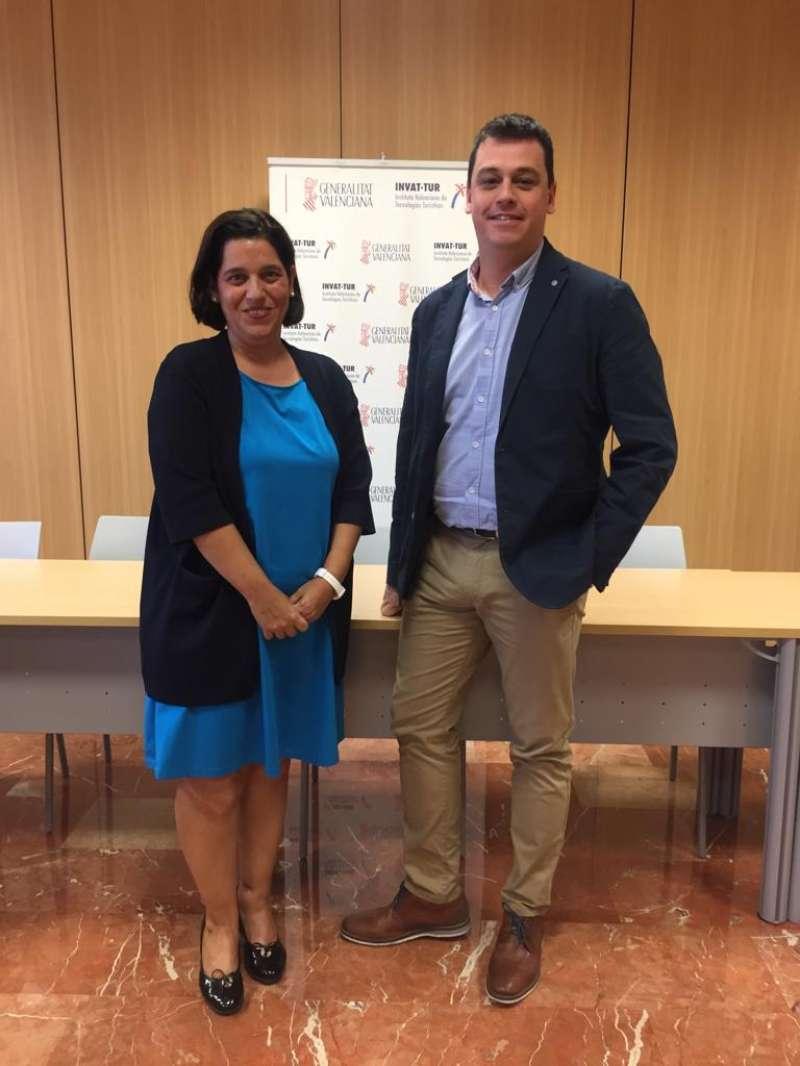 Iván Martí i Raquel Huete. EPDA