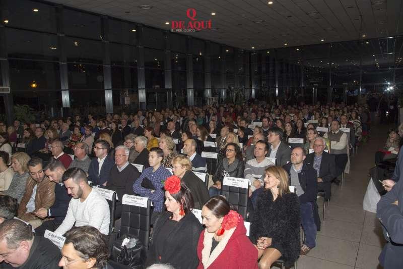 Los VII Premios del Camp de Morvedre llenaron El Faro de Canet. ELVIRA FOLGUERÀ