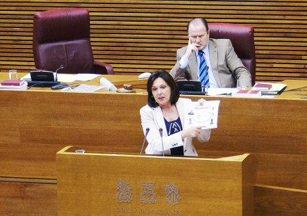 La diputada socialista Carmen Martínez. Foto EPDA