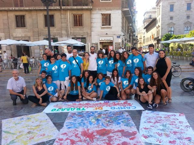 Imagen de los voluntarios. FOTO: GVA