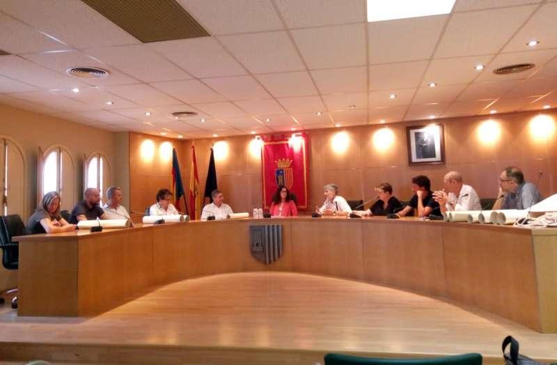 La reunión tuvo lugar en el Ayuntamiento