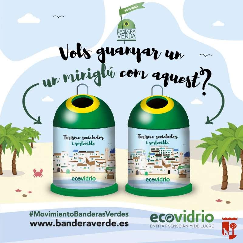 Cartell campanya reciclatge a Sueca./EPDA