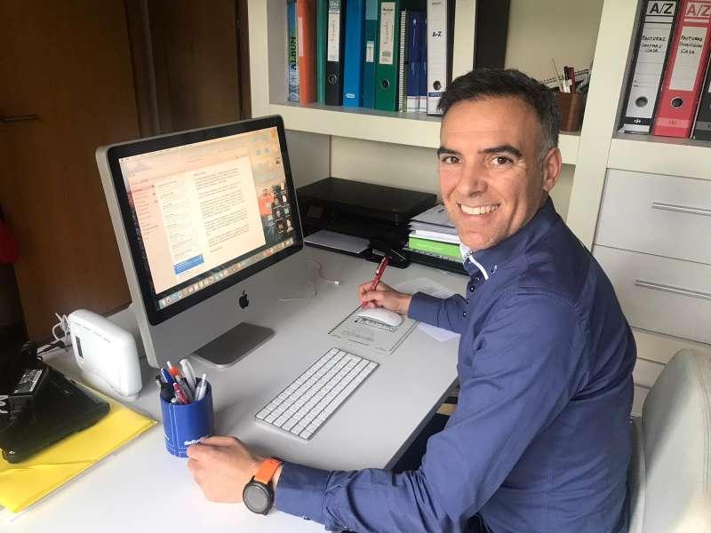 El portavoz de Ciudadanos (Cs) en el Ayuntamiento de Castellón, Alejandro Marín-Buck. / EPDA