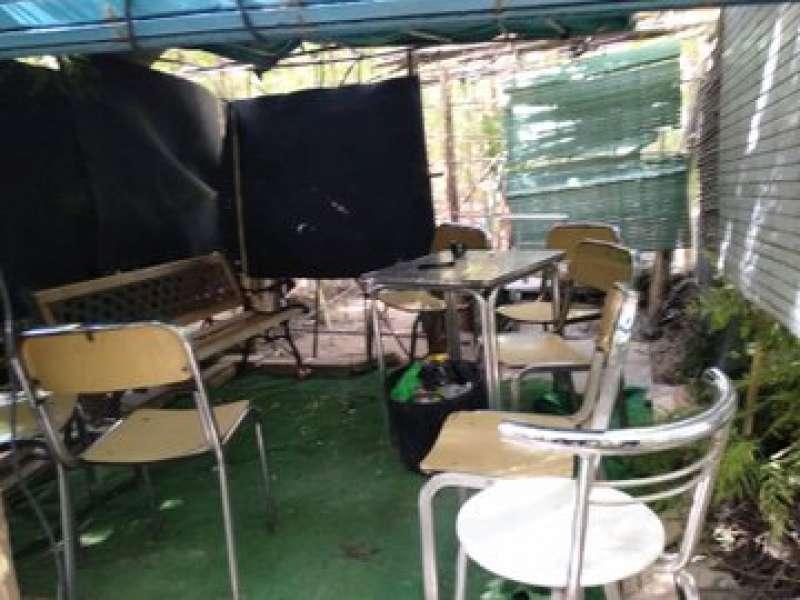Interior de la cabaña de Alboraya. EPDA