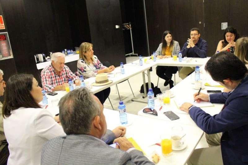 Reunión de Podemos Sagunto con Asecam. EPDA