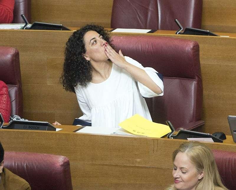 La portavoz de Educación del PSPV-PSOE en Les Corts Valencianes, Ana Besalduch. EFE/Archivo