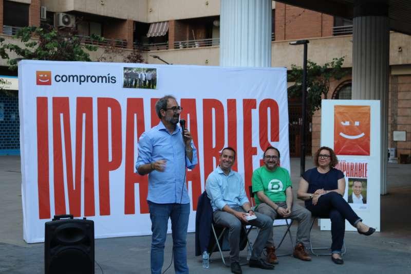 Compromís per Mislata enceta campanya amb la presència de Jordi Sebastià