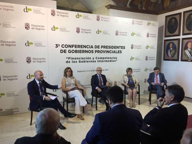 El Vicepresidente 2º de la Diputación de Valencia en la III Conferencia de Presidentes de Gobiernos Provinciales.