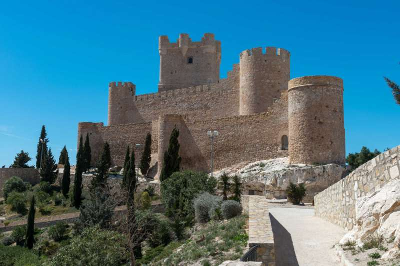 Castillo de Villena. EPDA.