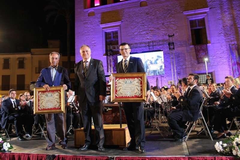 Valero y Sánchez, homenajeados
