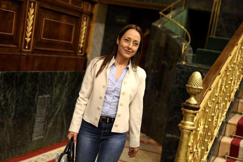 Sandra Julià en el Congreso. CIUDADANOS
