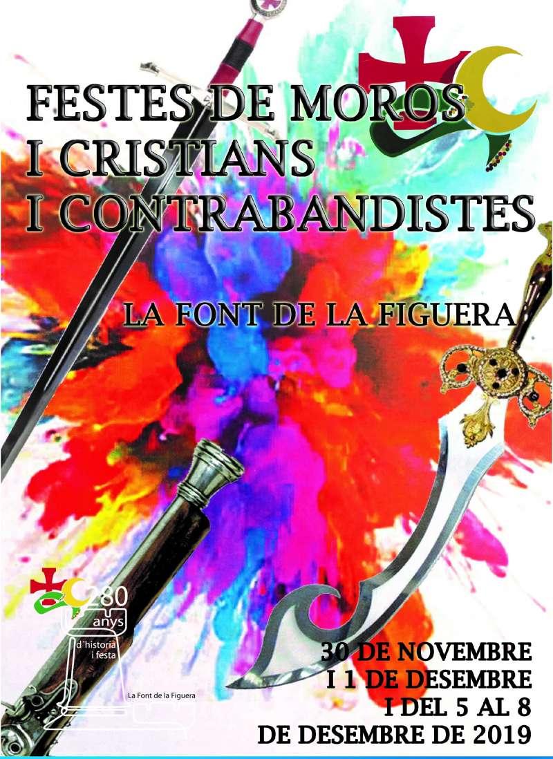 Cartell Feste Moros i Cristians i Contrabandistes. -EPDA