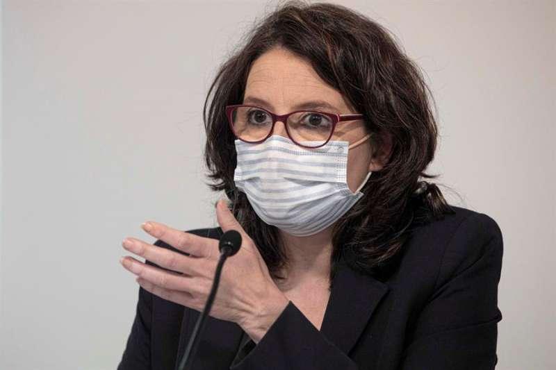 La portavoz y vicepresidenta del Consell, Mónica Oltra, en uina imagen reciente. EFE/Biel Aliño