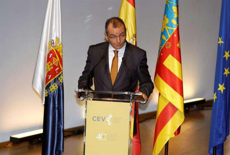 El Presidente de la CEV (Confederación Empresarial Valenciana), Salvador Navarro. EFE/Morell/Archivo