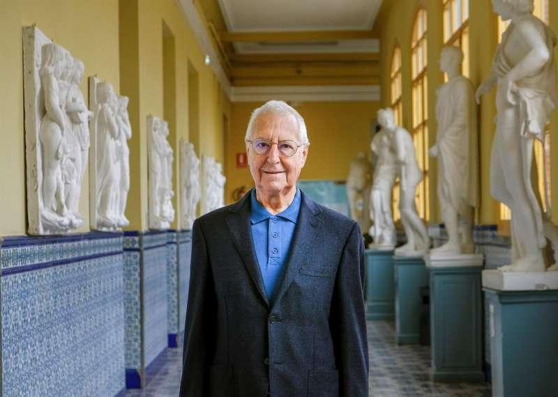 El historiador, crítico de arte y exdirector del Museo Reina Sofía, Tomás Llorens.