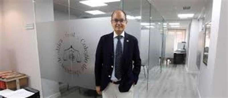 El presidente del Consejo Valenciano de Colegios de Abogados, Agustín Ferrer.