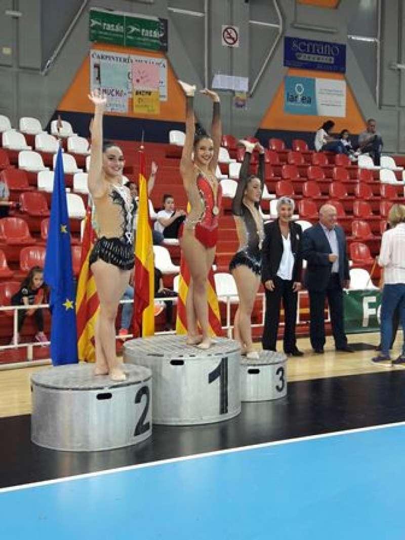 La gimnasta Albal Ramón. EPDA