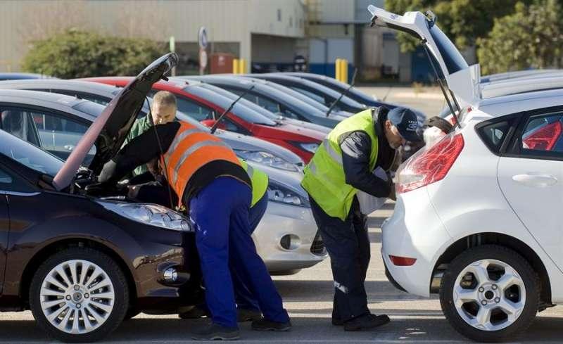 Imagen de la factoría de Ford.// EFE.
