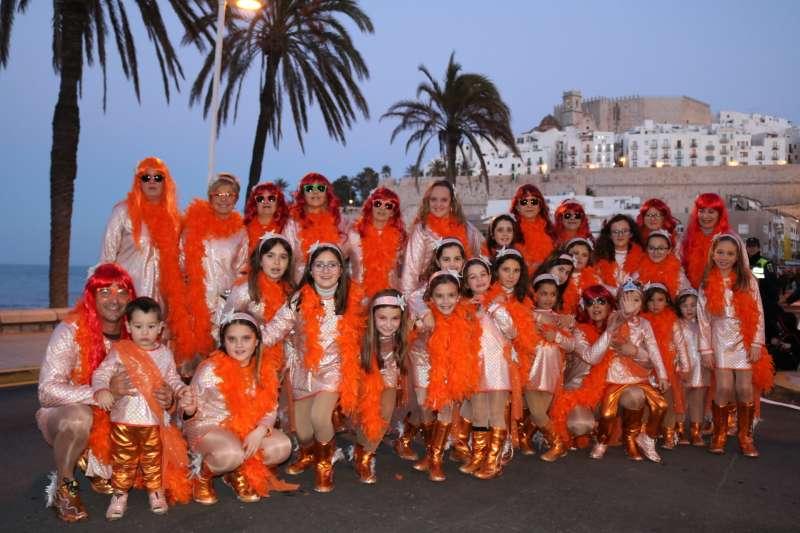 Carnaval en el municipio de Peñíscola.