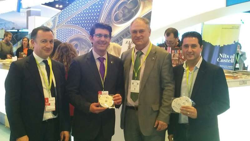 Vicente Alamá, Jorge Rodríguez, Manolo Civera y Paco García