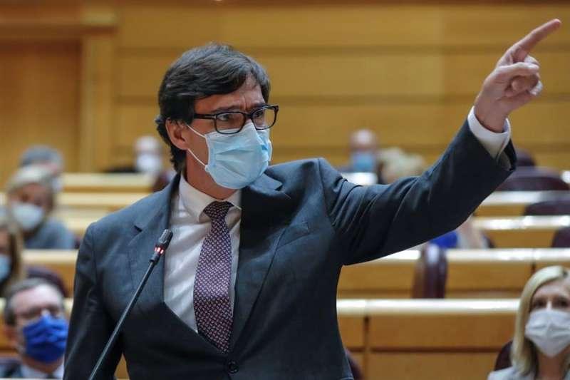 El ministro de Sanidad Salvador Illa.- EFE/Emilio Naranjo