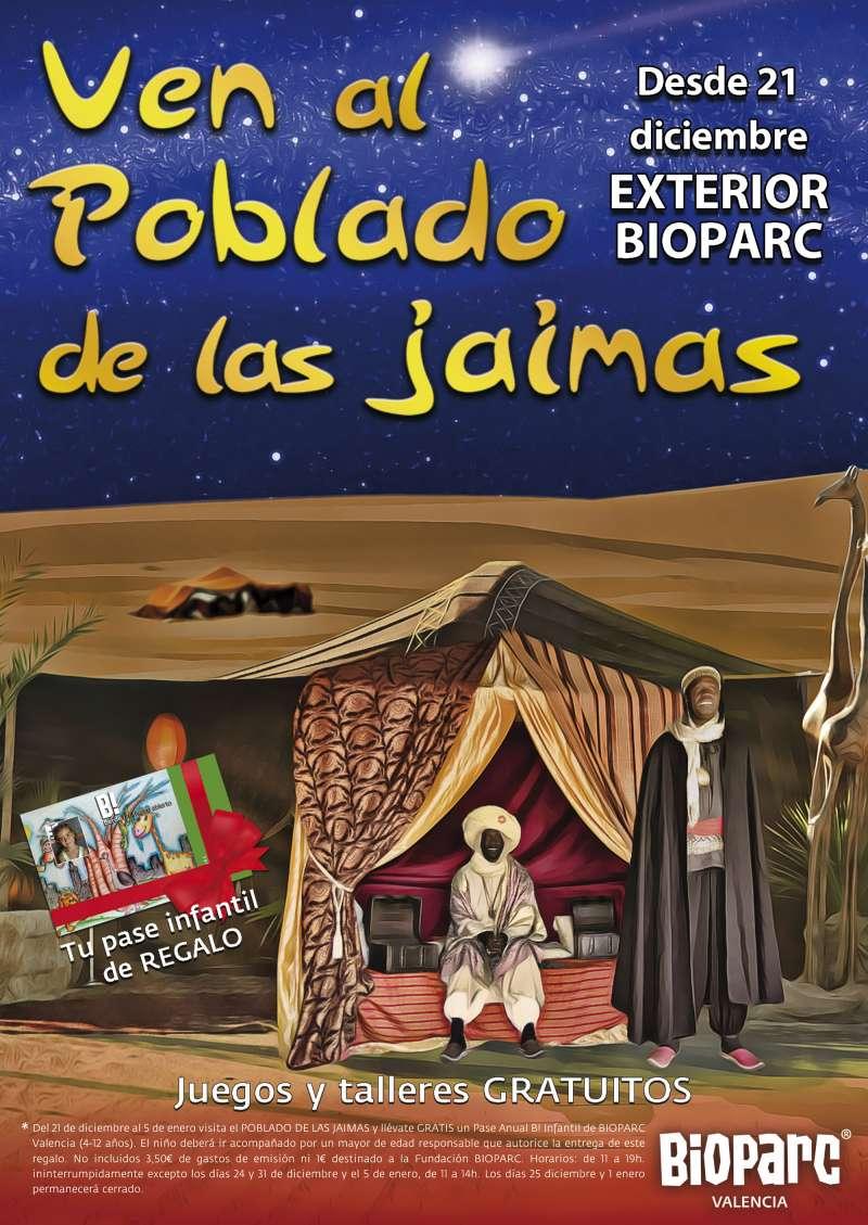 Jaimas en Bioparc. EPDA