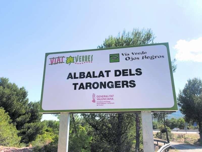 Via Verda dels Ulls Negres a Albalat. EPDA