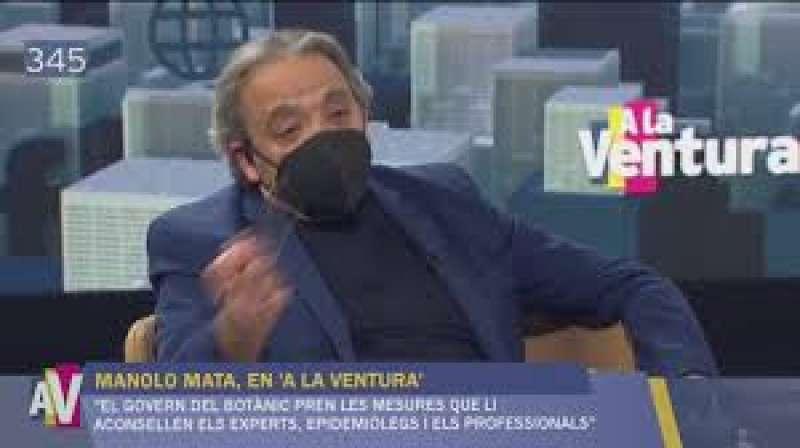 Manolo Mata entrevistado en A la Ventura. EPDA