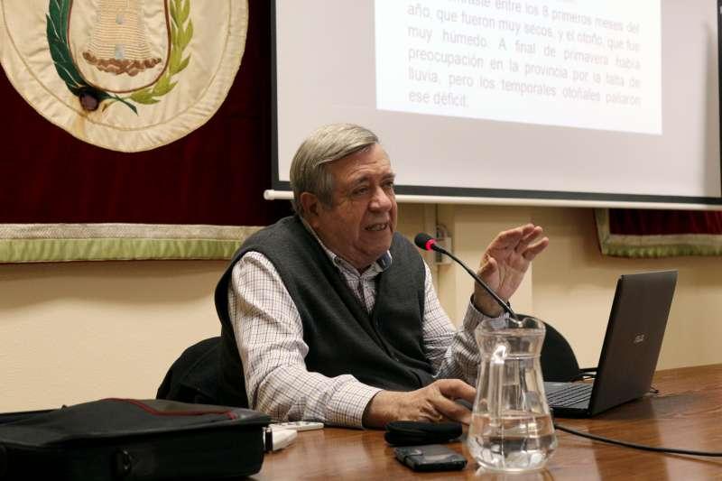 José M. Barrachina habló del tiempo en Segorbe
