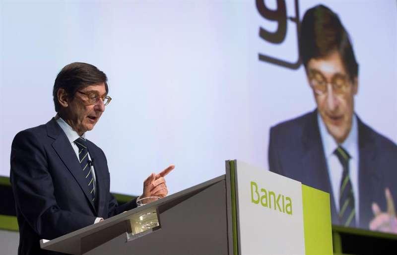 El presidente de Bankia, José Ignacio Goirigolzarri. EFE/Miguel Ángel Polo/Archivo