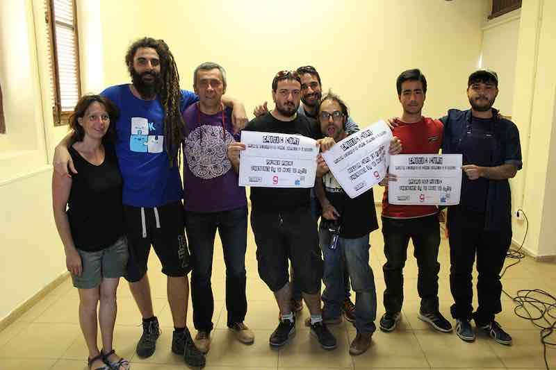 Guanyadors del I Festival Critic Curt de Godella. EPDA