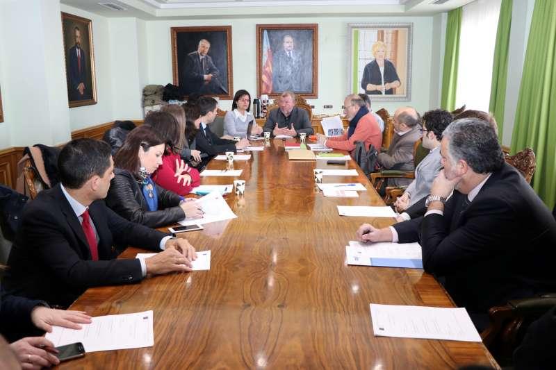 Representantes del omité estratégico de la Oficina de Captación de Inversiones Industriales (OCAII). EPDA