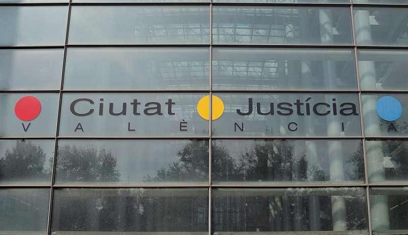 Fachada de la Ciudad de Justicia de Valencia / EPDA