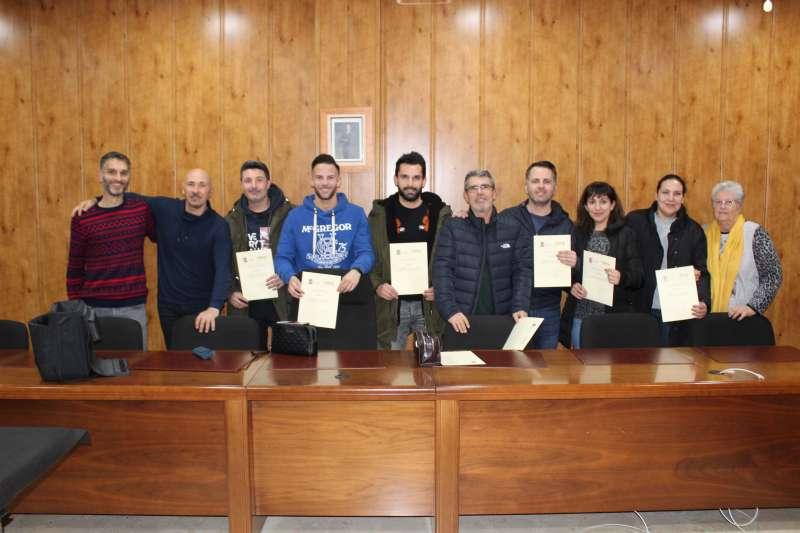Participantes del curso genérico de formación para policías locales sobre animales. EPDA