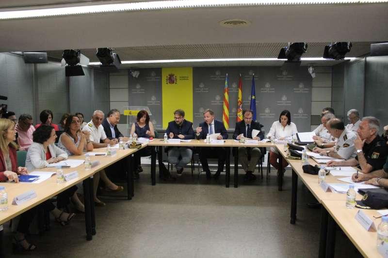 Reunión delegación de gobierno