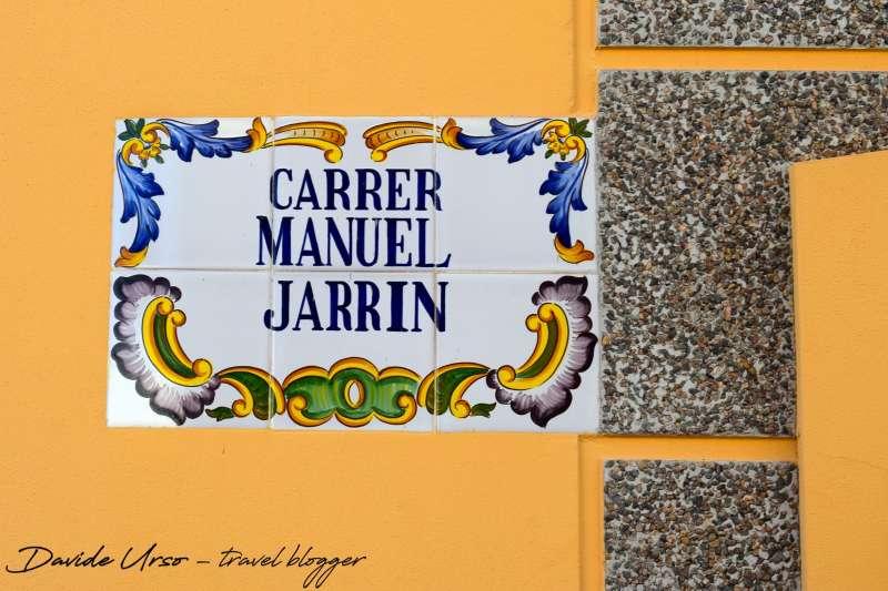 Calle dedicada a Manuel Jarrín. / JSM