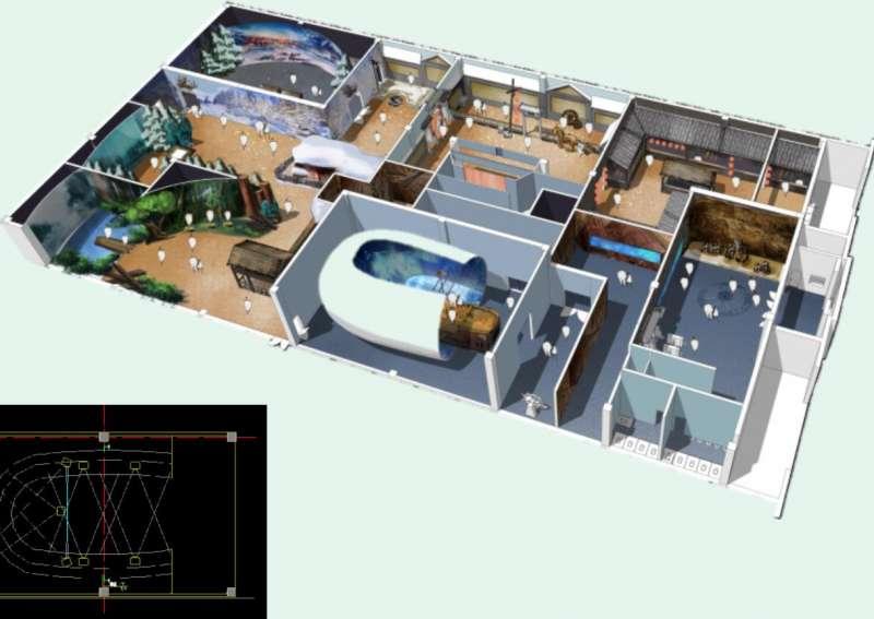Simulación del parque virtual. EPDA