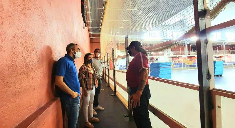En marcha la remodelación de la pista de hockey