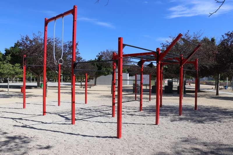 Nuevo material deportivo del Parc Central de Torrent. EPDA