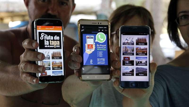 App y WhatsApp en tu móvil