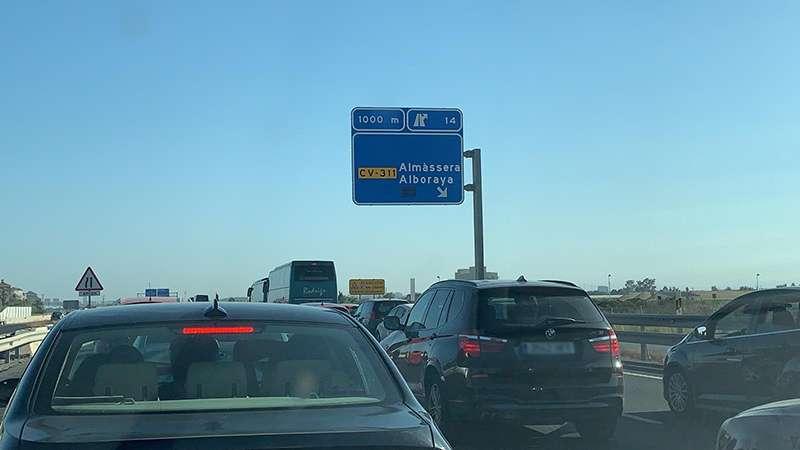Congestión del tráfico