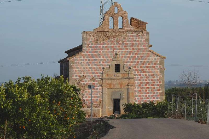 Estat actual de l?església de Benicalaf de Benavites. EPDA